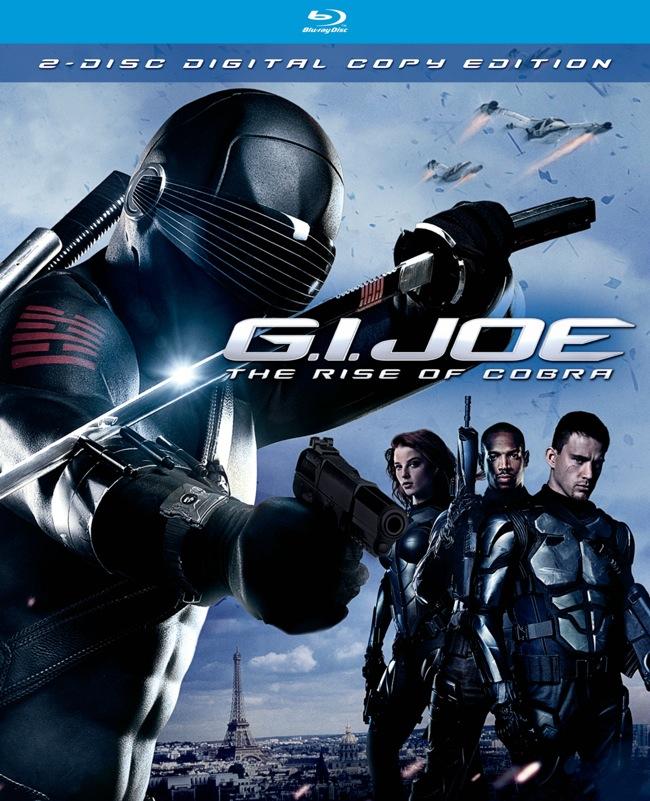Joe the rise of cobra (blu-ray)